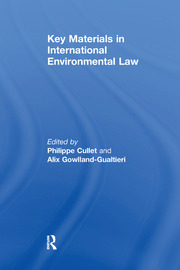 Key Materials in International Environmental Law - 1st Edition book cover