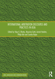 International Arbitration Discourse and Practices in Asia