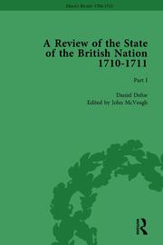 Defoe's Review 1704–13, Volume 7 (1710), Part I