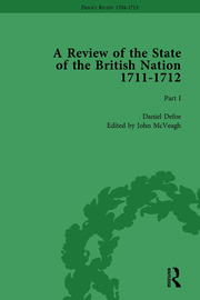 Defoe's Review 1704–13, Volume 8 (1711–12), Part I