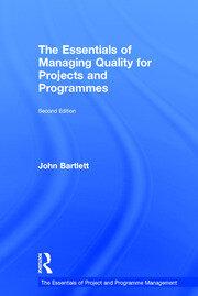 Essentials of Managing Quality - Bartlett