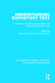 Understanding Expository Text: A Theoretical and Practical Handbook for Analyzing Explanatory Text
