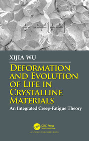 Deformation and Evolution of Life in Crystalline Materials: An Integrated Creep-Fatigue Theory