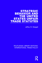 Strategic Behavior and the United States Unfair Trade Statutes