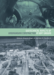 Geotechnical Aspects of Underground Construction in Soft Ground: Proceedings of the 9th International Symposium on Geotechnical Aspects of Underground Construction in Soft Grounds (IS-São Paulo 2017), April 4-6, 2017, São Paulo, Brazil