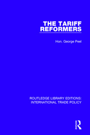 The Tariff Reformers