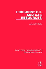 High-cost Oil and Gas Resources