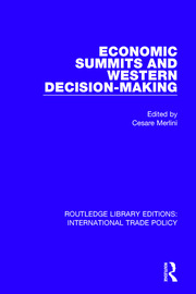Economic Summits and Western Decision-Making