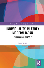 Featured Title - Individuality in Early Modern Japan - 1st Edition book cover
