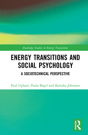The Psychology of Energy Transitions - Upham - 1st Edition book cover