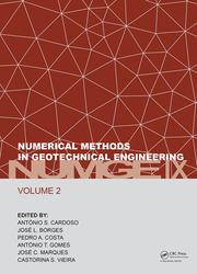 Numerical Methods in Geotechnical Engineering IX, Volume 2: Proceedings of the 9th European Conference on Numerical Methods in Geotechnical Engineering (NUMGE 2018), June 25-27, 2018, Porto, Portugal