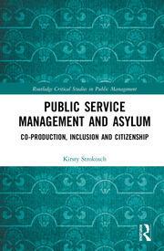 Public Service Management and Asylum: Co-production, Inclusion and Citizenship