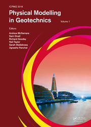 Physical Modelling in Geotechnics, Volume 1: Proceedings of the 9th International Conference on Physical Modelling in Geotechnics (ICPMG 2018), July 17-20, 2018, London, United Kingdom
