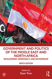 Government Politics Middle East 9th edition Yom - 1st Edition book cover