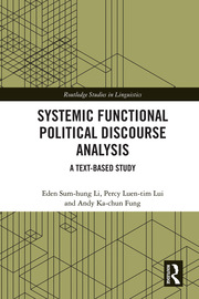 Systemic Functional Political Discourse Analysis: A Text-based Study