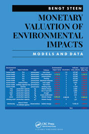 Monetary Valuation of Environmental Impacts: Models and Data