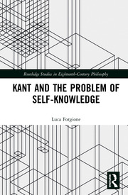 Kant and the Problem of Self-Knowledge
