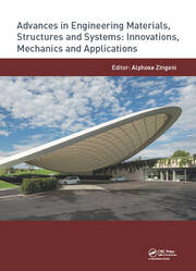 Advances in Engineering Materials, Structures and Systems: Innovations, Mechanics and Applications: Proceedings of the 7th International Conference on Structural Engineering, Mechanics and Computation (SEMC 2019), September 2-4, 2019, Cape Town, South Africa
