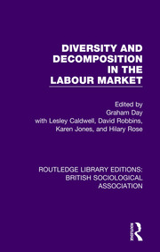 Diversity and Decomposition in the Labour Market