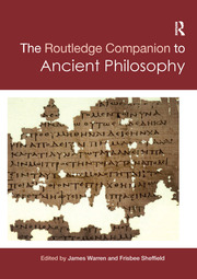 Routledge Companion to Ancient Philosophy