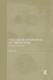Freedom of Information Reform in China: Information Flow Analysis