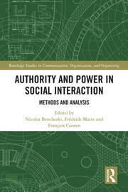 Authority and Power in Social Interaction: Methods and Analysis