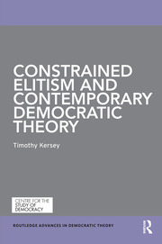 Constrained Elitism and Contemporary Democratic Theory