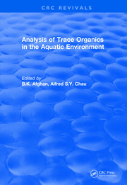 Analysis of Trace Organics in the Aquatic Environment