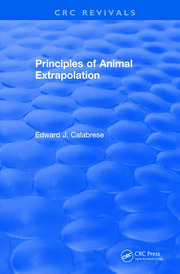 Principles of Animal Extrapolation (1991)