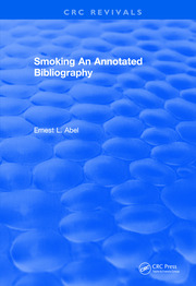 Smoking and Reproduction (1984): An Annotated Bibliography