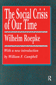 The Social Crisis of Our Time