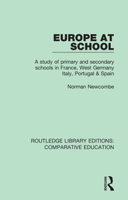 Europe at School: A Study of Primary and Secondary Schools in France, West Germany, Italy, Portugal & Spain