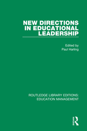 New Directions in Educational Leadership