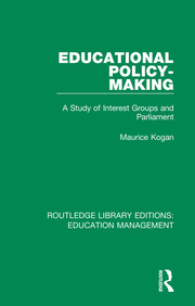 Educational Policy-making: A Study of Interest Groups and Parliament