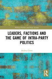 Leaders, Factions and the Game of Intra-Party Politics