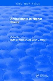 Antioxidants in Higher Plants