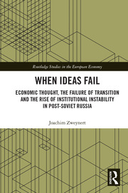 When Ideas Fail: Economic Thought, the Failure of Transition and the Rise of Institutional Instability in Post-Soviet Russia