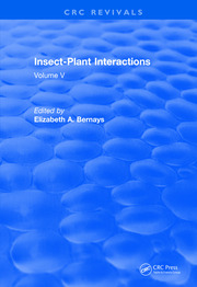 Revival: Insect-Plant Interactions (1993): Volume V