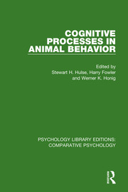 Cognitive Processes in Animal Behavior