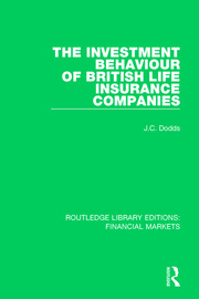 The Investment Behaviour of British Life Insurance Companies