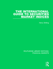 The International Guide to Securities Market Indices