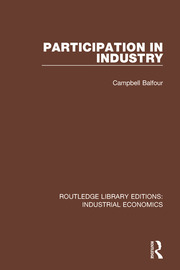 Participation in Industry