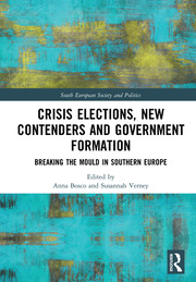 Crisis Elections, New Contenders and Government Formation: Breaking the Mould in Southern Europe