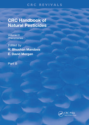 Handbook of Natural Pesticides: Pheromono, Part B, Volume IV