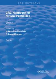 Handbook of Natural Pesticides: Pheromono, Part A, Volume IV