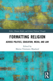 Formatting Religion -- Mjaaland - 1st Edition book cover