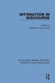 Intonation in Discourse