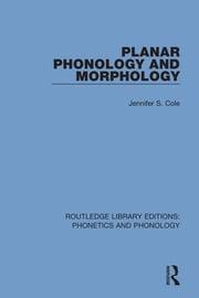 Planar Phonology and Morphology