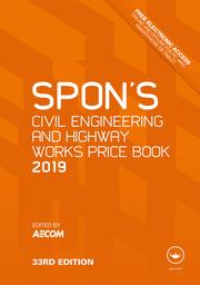 Spon's Civil Engineering and Highway Works Price Book 2019