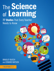 Featured Title - Science of Learning Busch - 1st Edition book cover